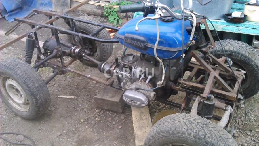 Самодельный квадроцикл двигателя урал