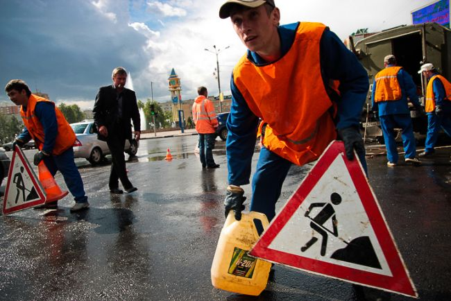 Знак «дорожные работы» — это нужно знать