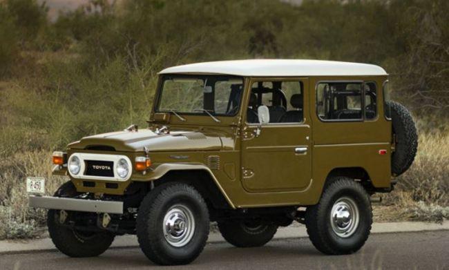 Toyota Land Cruiser: история от войны до наших дней