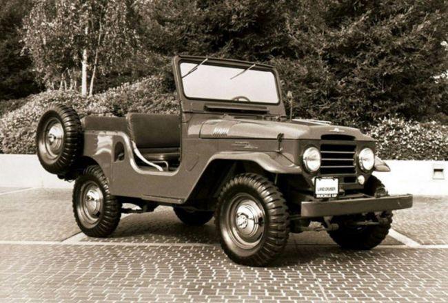 Toyota Land Cruiser: история от войны до наших дней 6