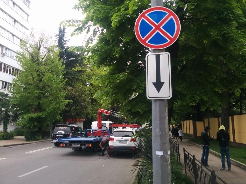 можно ли парковаться за знаком остановка запрещена