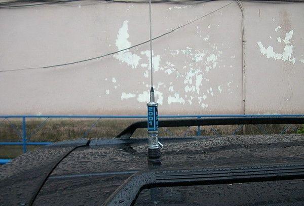 Как установить антенну на автомобиль