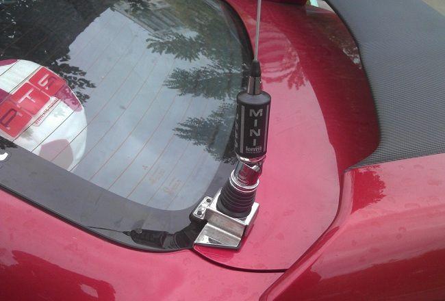 Как установить антенну на автомобиль 2
