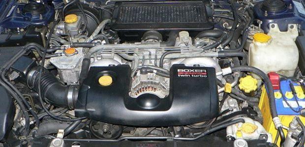 О двигателях для Subaru Forester 2