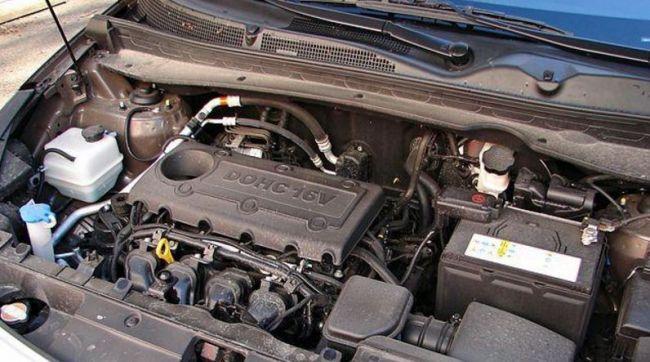 О двигателях для KIA Sportage 3