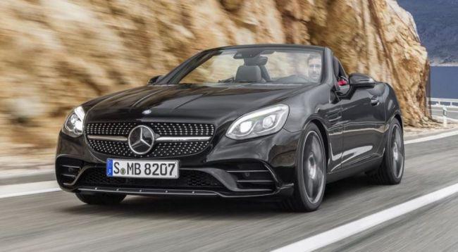 О двигателях для Mercedes-Benz SLK-Class (SLC)