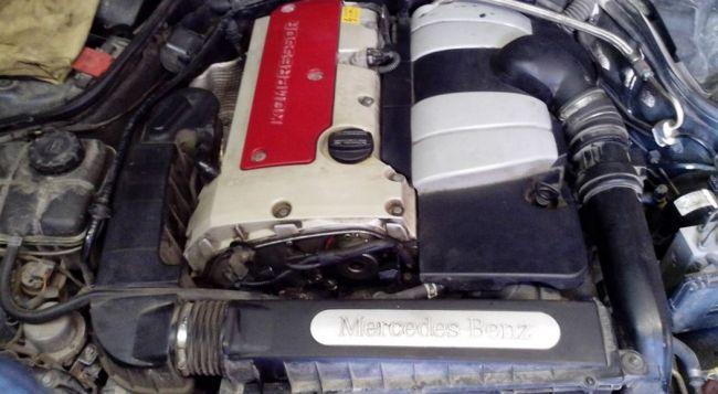 О двигателях для Mercedes-Benz SLK-Class (SLC) 2