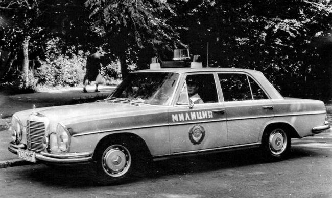 История иномарок в рядах советской милиции 2