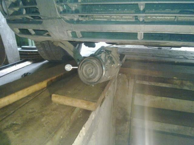 Замена подшипника муфты компрессора VW Passat B5