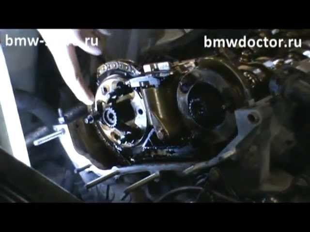 Регулировка фаз ГРМ на BMW M52 и M54