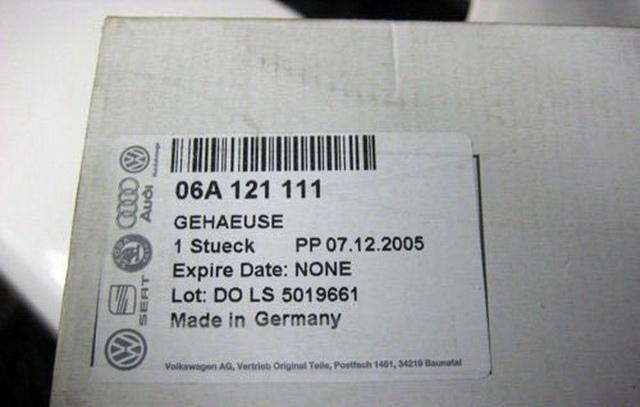 Замена электронного термостата на Volkswagen Golf 4 / Bora
