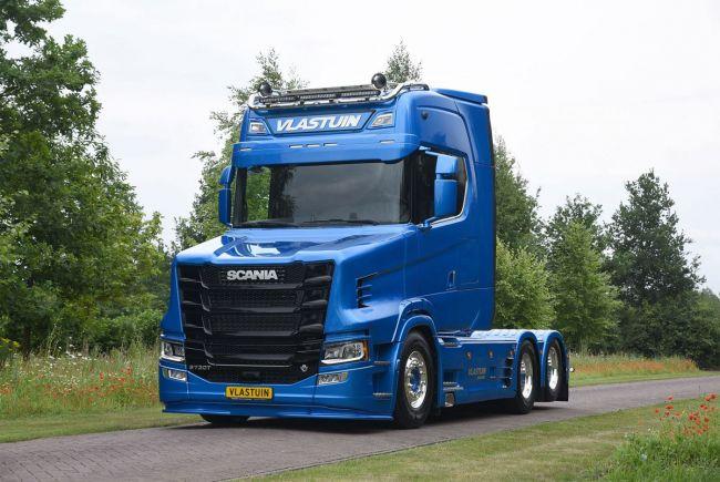 Новая версия капота разработана для последнего поколения Scania 2