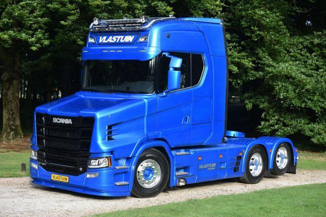 Новая версия капота разработана для последнего поколения Scania