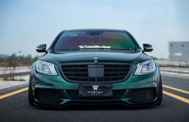 Необычный китайский тюнинг Mercedes-Benz 2