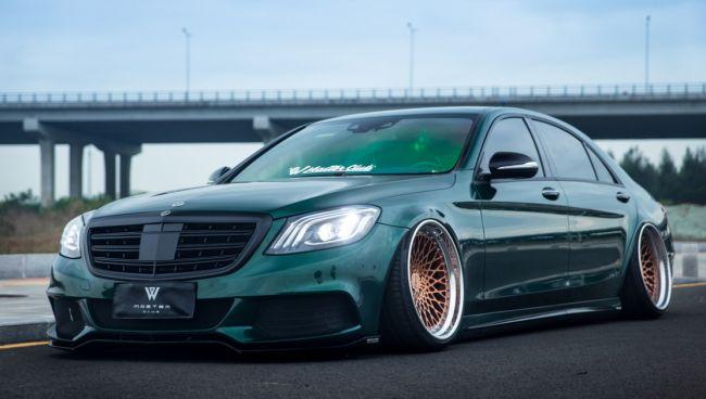 Необычный китайский тюнинг Mercedes-Benz 4