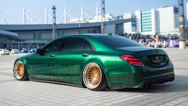 Необычный китайский тюнинг Mercedes-Benz 3