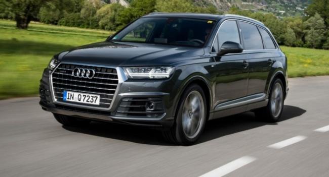 Audi Q7, Audi, Q7, внедорожник
