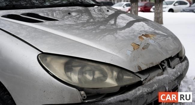 автомобиль, машина, пежо, peugeot, битый битая, авария, поцарапанный