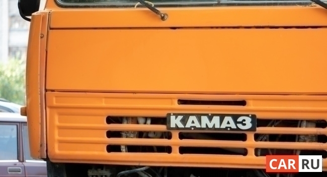 камаз, логотип