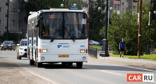 автобус, город, общественный транспорт