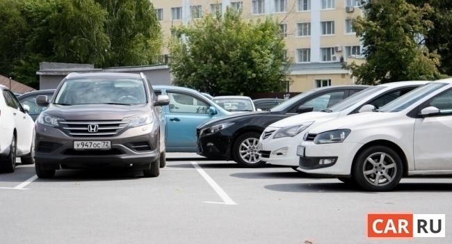 город, парковка, машины, двор