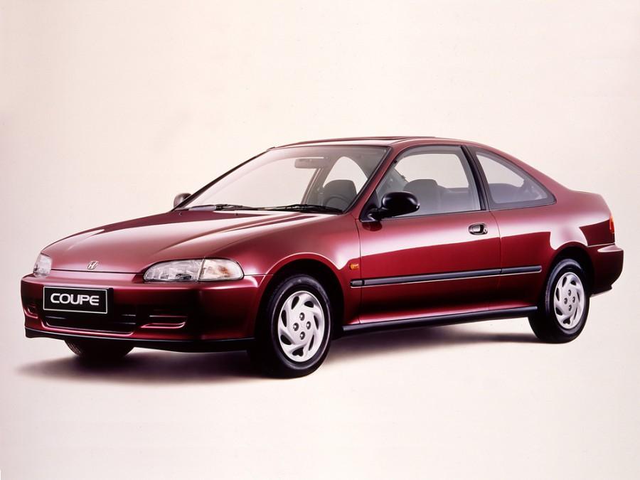 Honda Civic купе, 1991–1997, 5 поколение - отзывы, фото и характеристики на Car.ru
