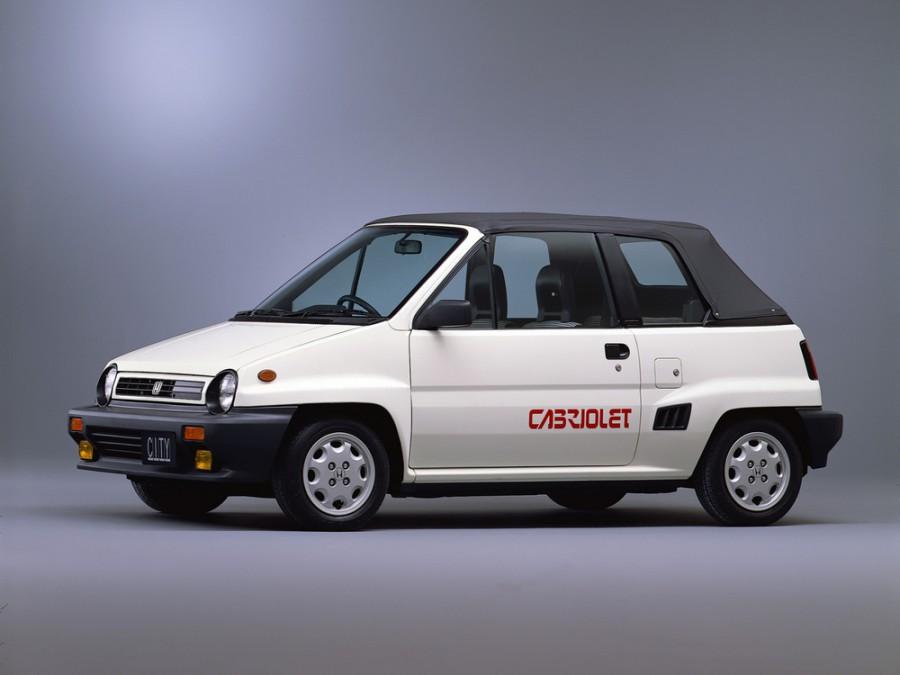 Honda City кабриолет, 1 поколение - отзывы, фото и характеристики на Car.ru