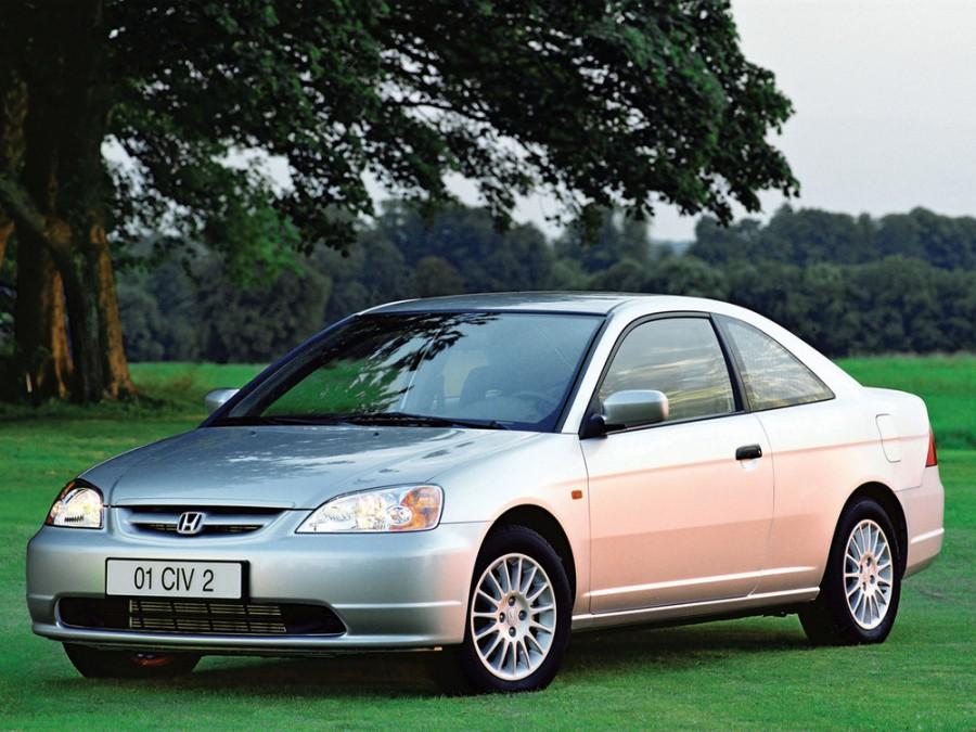 Honda Civic купе, 2000–2005, 7 поколение - отзывы, фото и характеристики на Car.ru