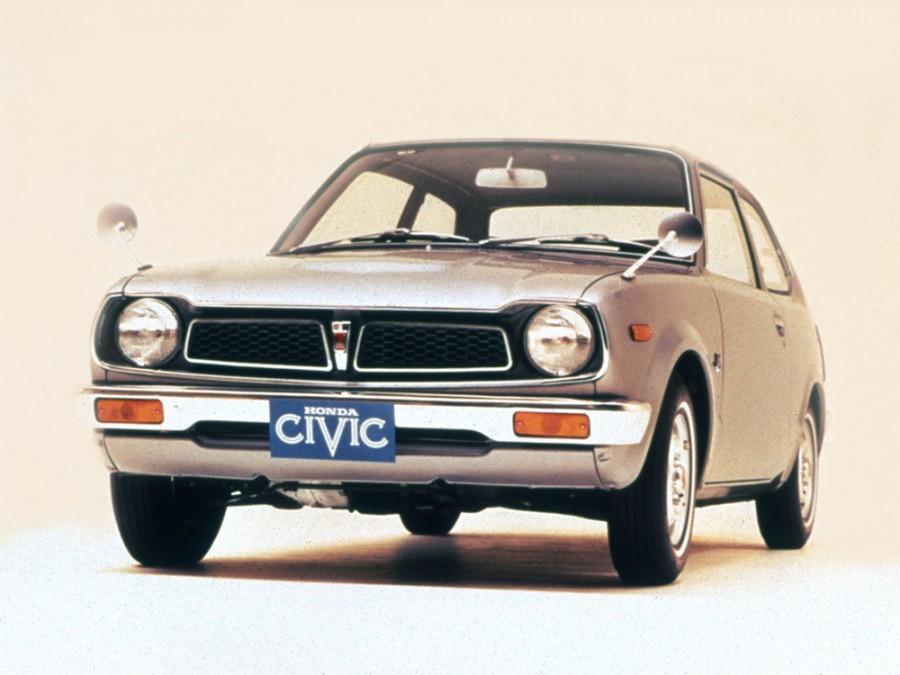 Honda Civic седан 2-дв., 1 поколение - отзывы, фото и характеристики на Car.ru
