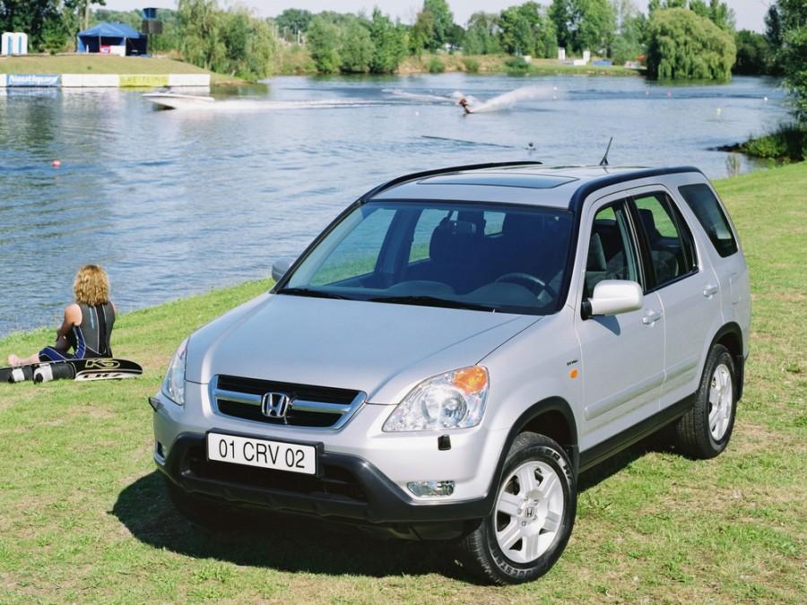 Honda CR-V кроссовер, 2001–2004, 2 поколение - отзывы, фото и характеристики на Car.ru