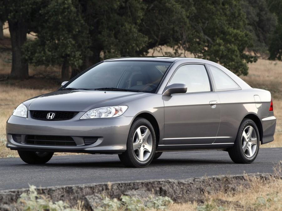 Honda Civic купе, 2003–2005, 7 поколение [рестайлинг] - отзывы, фото и характеристики на Car.ru