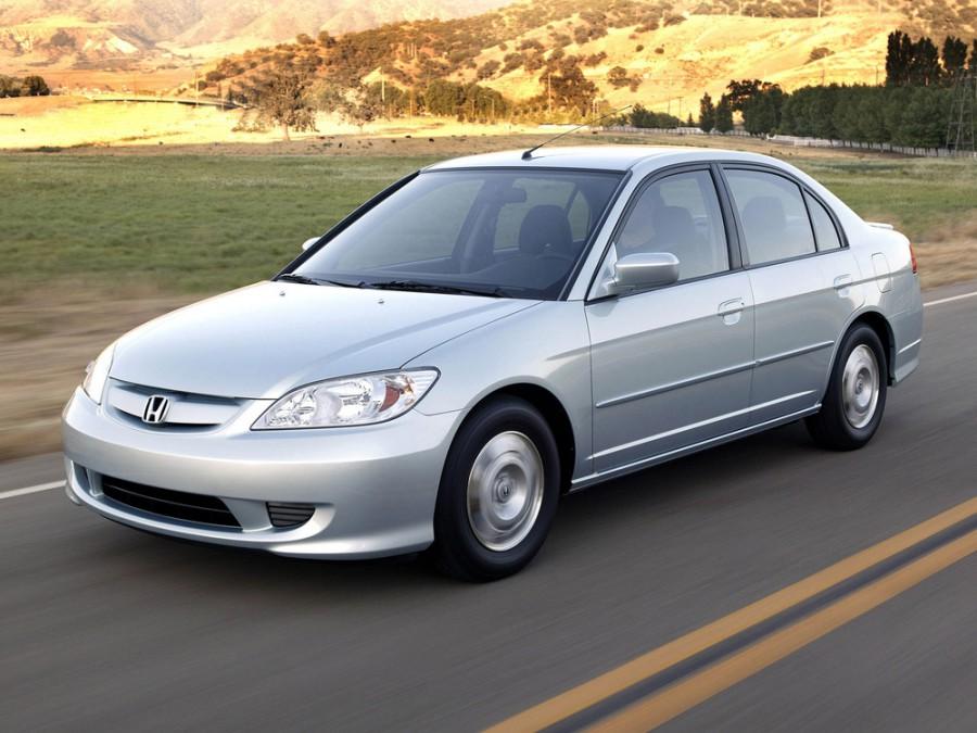 Honda Civic Hybrid седан 4-дв., 2003–2005, 7 поколение [рестайлинг] - отзывы, фото и характеристики на Car.ru