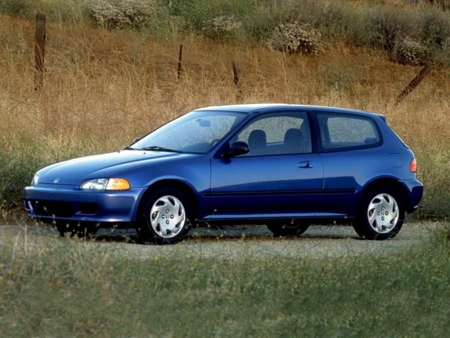 Honda Civic хетчбэк 3-дв., 1991–1997, 5 поколение - отзывы, фото и характеристики на Car.ru