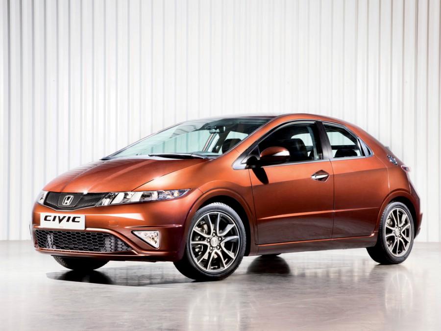 Honda Civic хетчбэк 5-дв., 2011–2012, 8 поколение [2-й рестайлинг] - отзывы, фото и характеристики на Car.ru