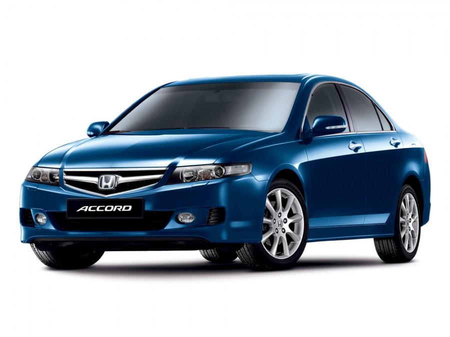 Honda Accord седан 4-дв., 2006–2008, 7 поколение [рестайлинг] - отзывы, фото и характеристики на Car.ru