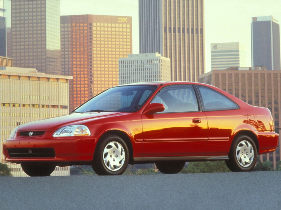 Honda Civic купе 2-дв., 1995–2001, 6 поколение - отзывы, фото и характеристики на Car.ru