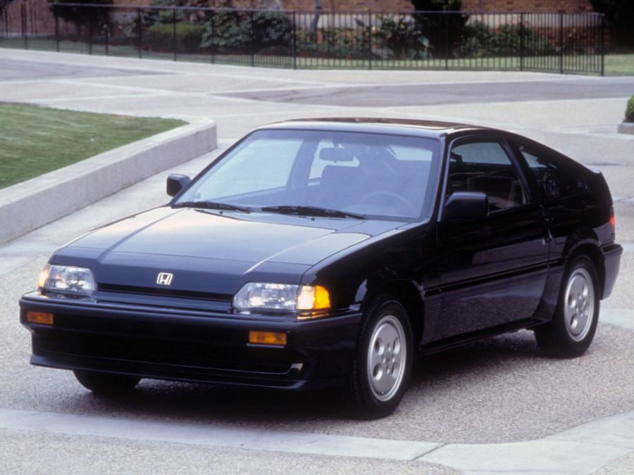 Honda CR-X хетчбэк, 1983–1987, 1 поколение - отзывы, фото и характеристики на Car.ru