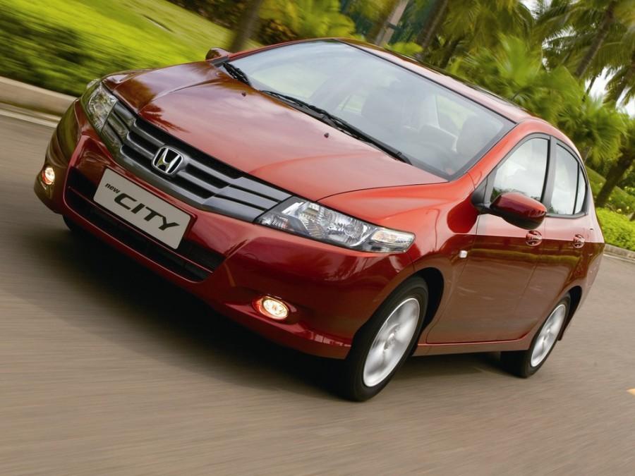 Honda City седан, 2008–2011, 5 поколение - отзывы, фото и характеристики на Car.ru