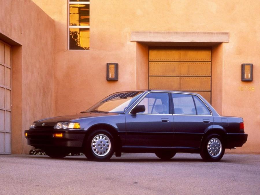 Honda Civic седан, 1987–1996, 4 поколение - отзывы, фото и характеристики на Car.ru