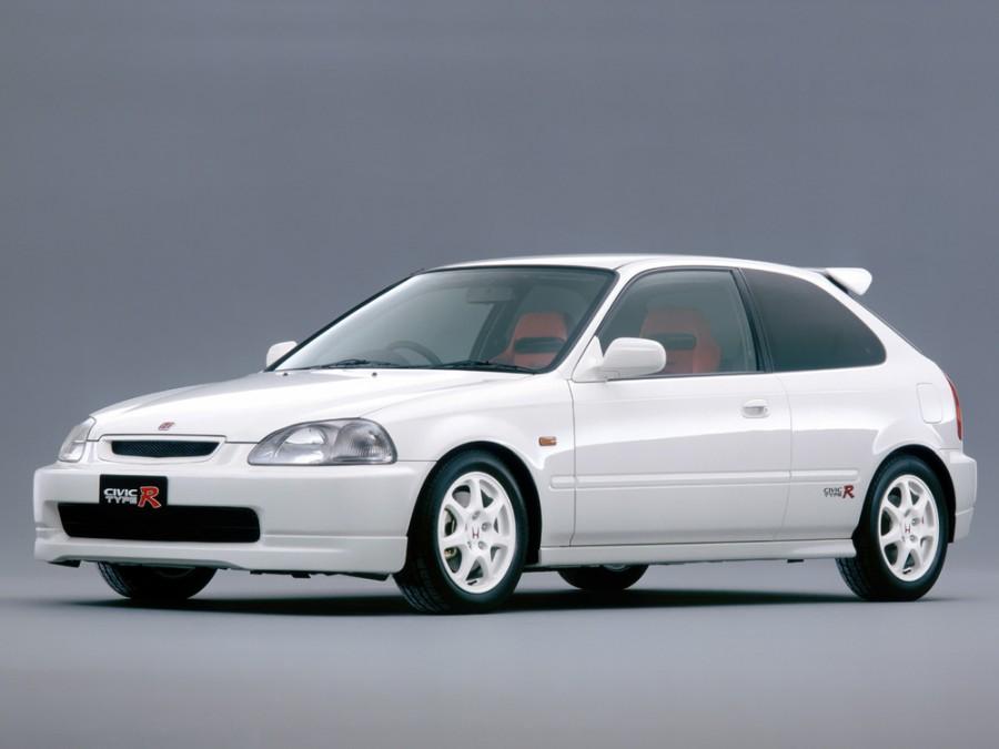 Honda Civic Type-R хетчбэк 3-дв., 1995–2001, 6 поколение - отзывы, фото и характеристики на Car.ru