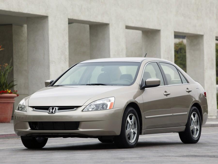 Honda Accord US-spec седан 4-дв., 2002–2006, 7 поколение - отзывы, фото и характеристики на Car.ru