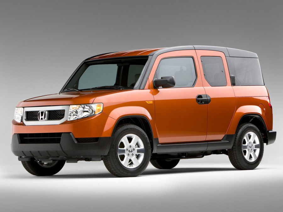 Honda Element кроссовер 5-дв., 2008–2010, 1 поколение [2-й рестайлинг] - отзывы, фото и характеристики на Car.ru