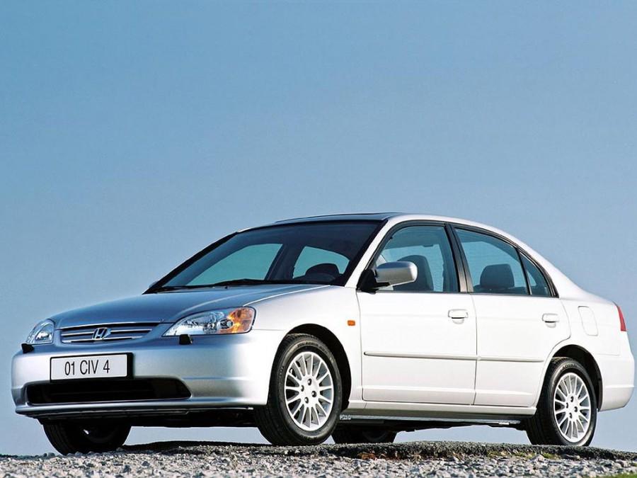 Honda Civic седан 4-дв., 2000–2005, 7 поколение - отзывы, фото и характеристики на Car.ru
