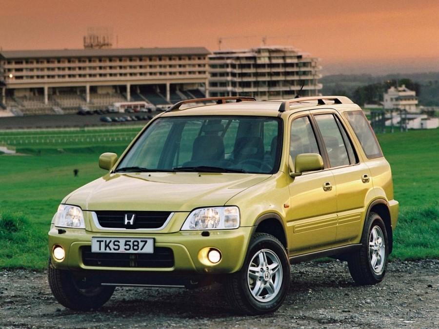 Honda CR-V кроссовер, 1998–2002, 1 поколение [рестайлинг] - отзывы, фото и характеристики на Car.ru