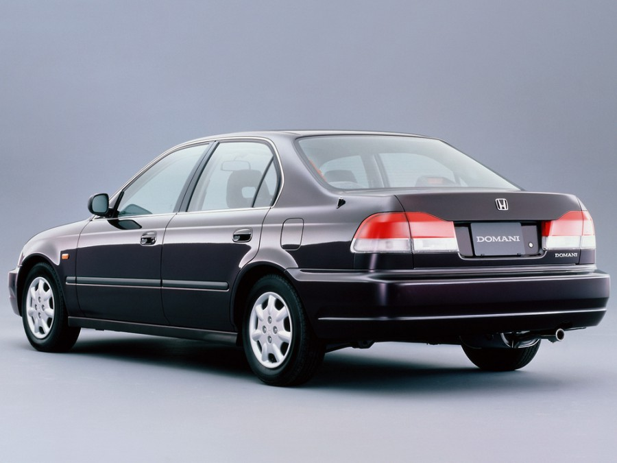 Honda Domani седан, 1997–2000, 2 поколение - отзывы, фото и характеристики на Car.ru