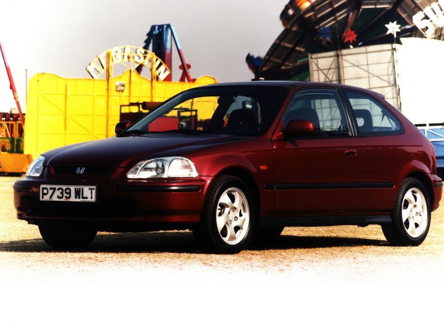 Honda Civic хетчбэк 3-дв., 1995–2001, 6 поколение - отзывы, фото и характеристики на Car.ru