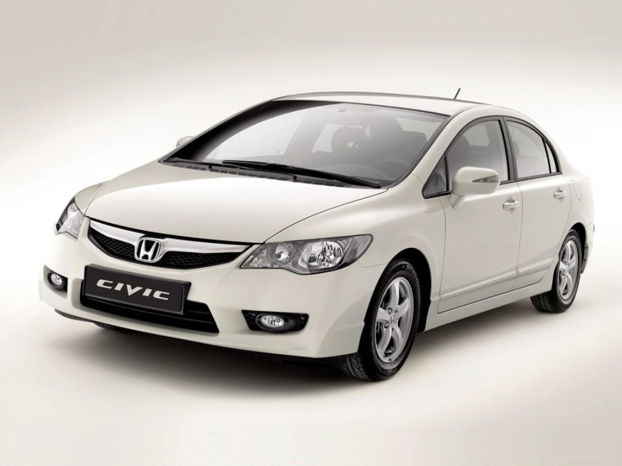 Honda Civic Hybrid седан 4-дв., 2007–2011, 8 поколение [рестайлинг] - отзывы, фото и характеристики на Car.ru
