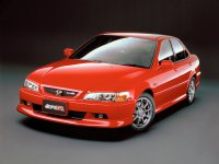 Honda Accord, 6 поколение [рестайлинг], Euro r седан 4-дв., 2001–2002
