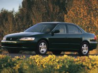 Honda Accord, 6 поколение, Us-spec седан 4-дв., 1997–2002