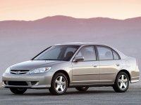 Honda Civic, 7 поколение [рестайлинг], Седан 4-дв., 2003–2005